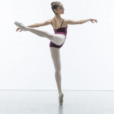 Emilia Roanet Feliu, Elmhurst Ballet School, 2018, Credit: Johan Persson/www.perssonphotography.com